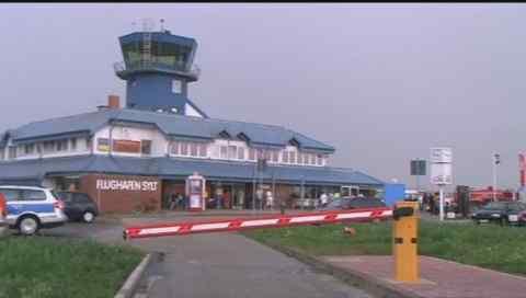 Tower Flughafen Sylt