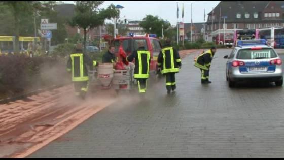 Polizei und Feuerwehr arbeiteten auf Sylt Hand in Hand