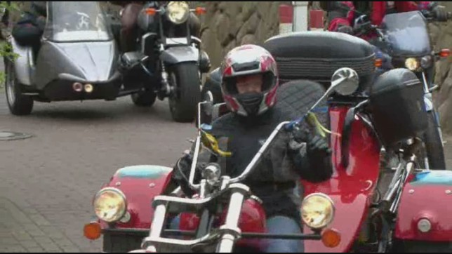 Trikes und Motorräder mit Beiwagen auf Sylt