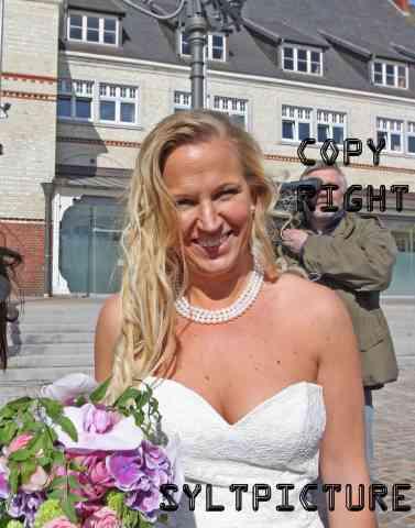 Die frischgebackene Frau Claudia Wendler