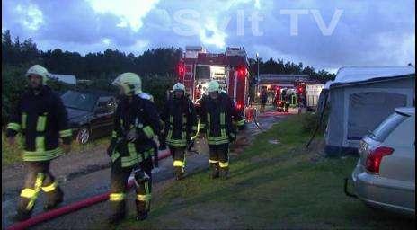 Feuerwehr Campingplatz Kampen