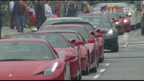 Ferraris satt in Kampen