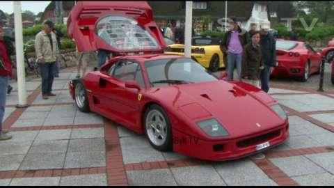 Ferraris auf Sylt