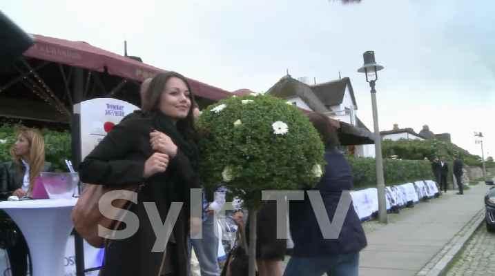 Sylt Party mit vielen Promis in Kampen