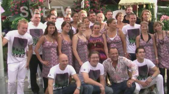 Das Promi Party Sylt Team