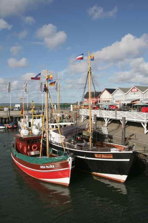 Rosa Paluka + Adler Schiffe starten auf Sylt in die Saison 2012