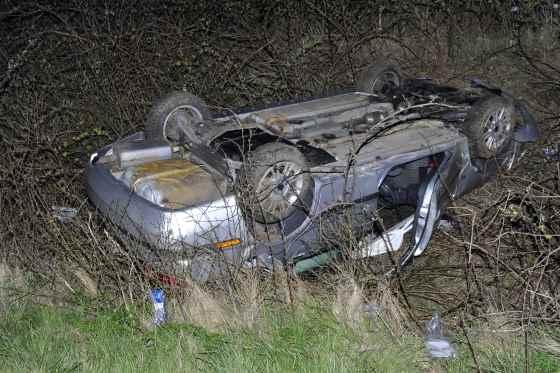 2 Verletzte bei Autounfall in Sylt-Ost