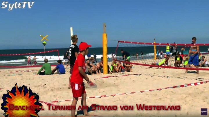 Top Bedingungen beim Beach-Ball Turnier in Westerland auf Sylt