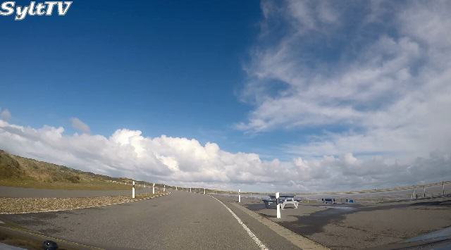 Kamerafahrt zum Weststrand