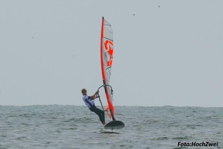 Foil surfen Premiere auf Sylt
