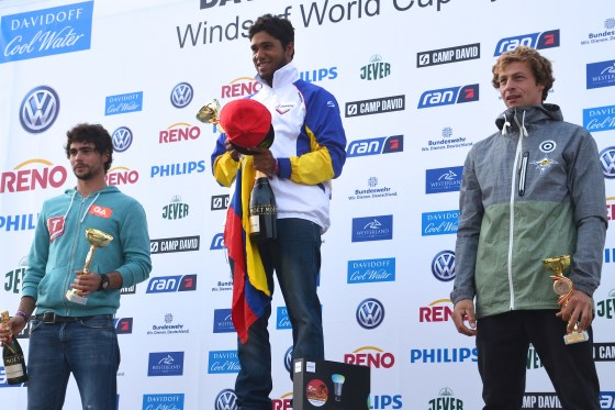 Siegerehrung Surf Cup Sylt 2014