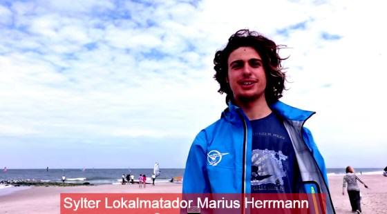 Marius Herrmann Sylter Windsurfer