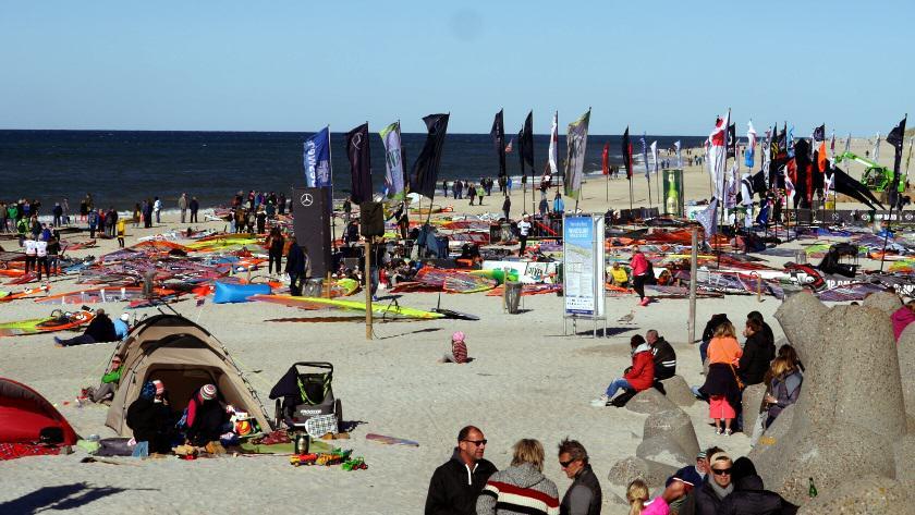 Windsurf Worldcup Eventgelände