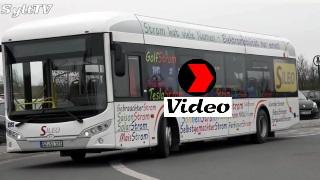 Elektrobus Sileo zu Testfahrten auf Sylt