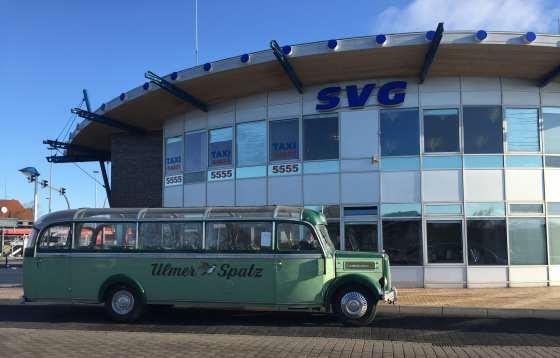Der neue Oldtimer Bus der Sylter Verkehrsgesellschaft