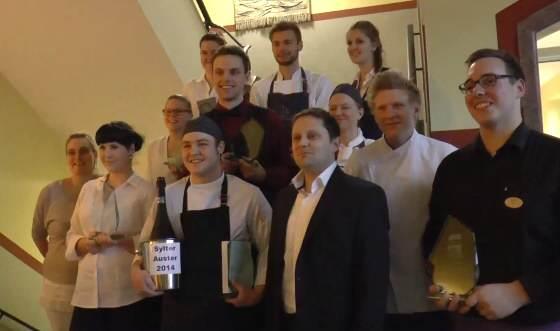 Sylter Auster 2014 die Preisträger/innen