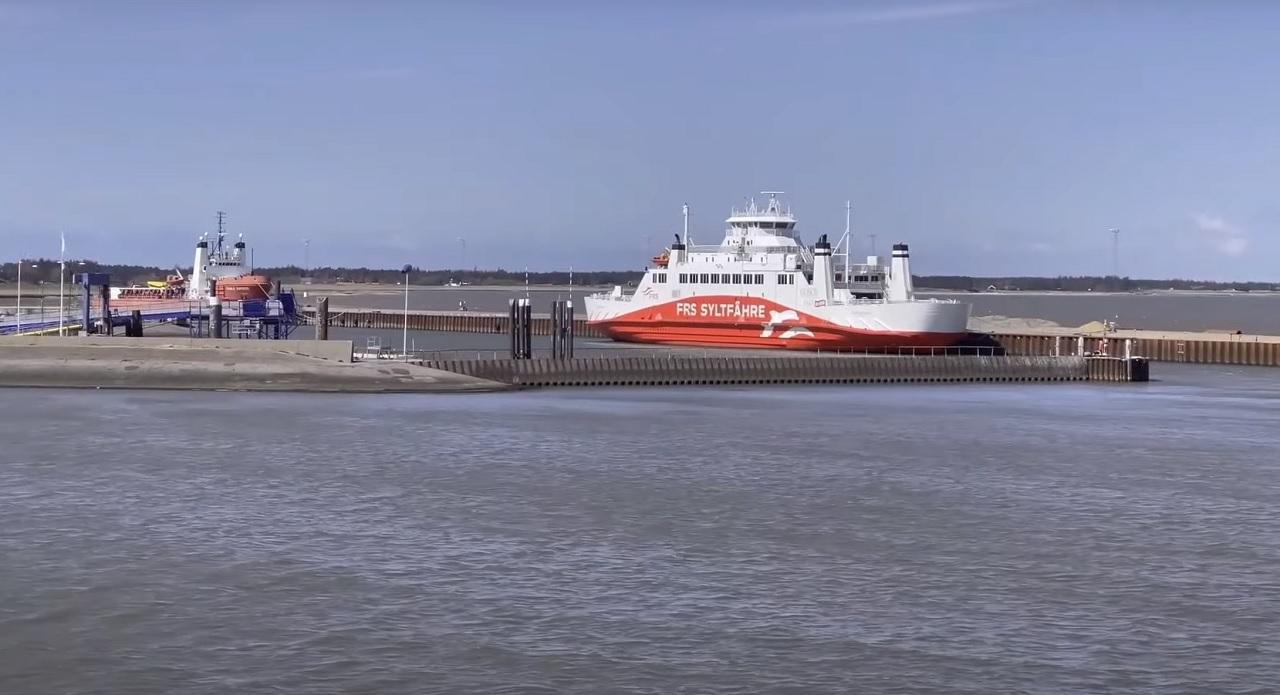 Die Syltfähre verkehrt wieder stündlich zwischen Sylt und Dänemark