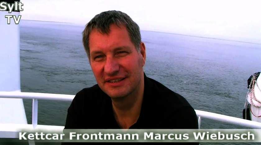 Marcus Wiebusch gibt Konzert auf der Syltfähre