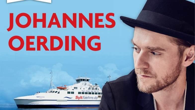 Johannes Oerding spielt live auf der Nordsee