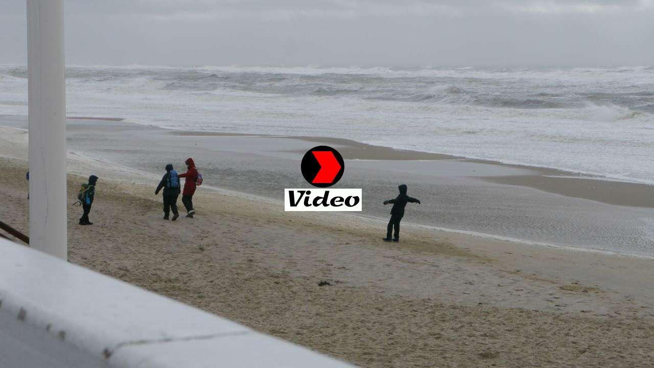 Video von Orkan Niklas