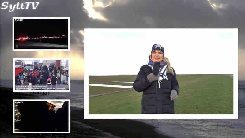 Sylt TV News mit Antje vom 2. Januar 2017