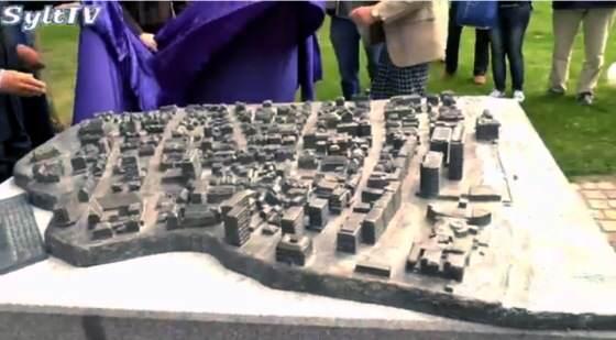 Westerland/Sylt (be)greifen - Neues Tastmodell steht im Rathauspark
