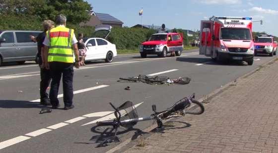 Unfall in Tinnum auf Sylt