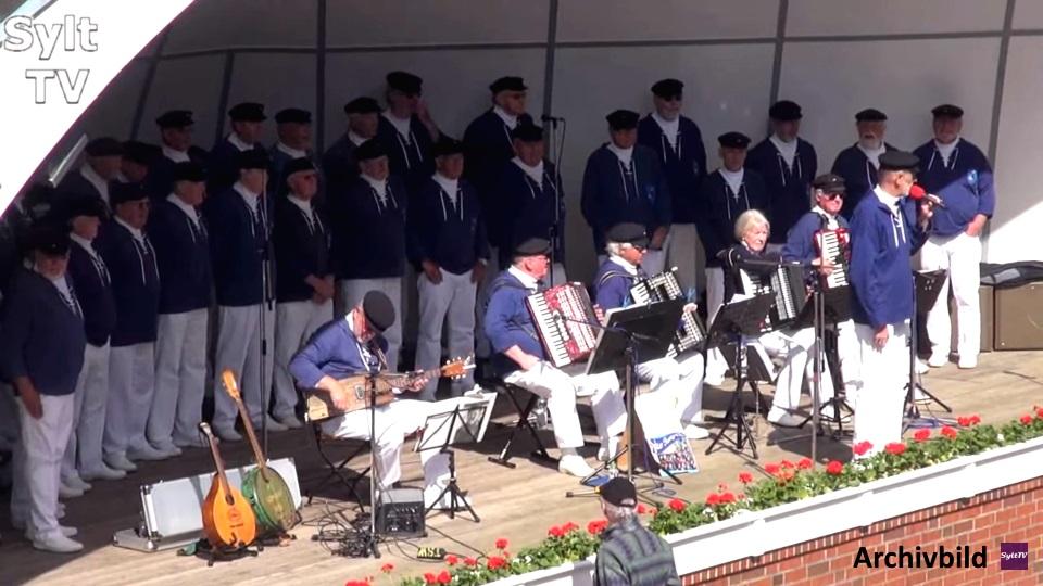 Sylter Shanty Chor in der Musikmuschel