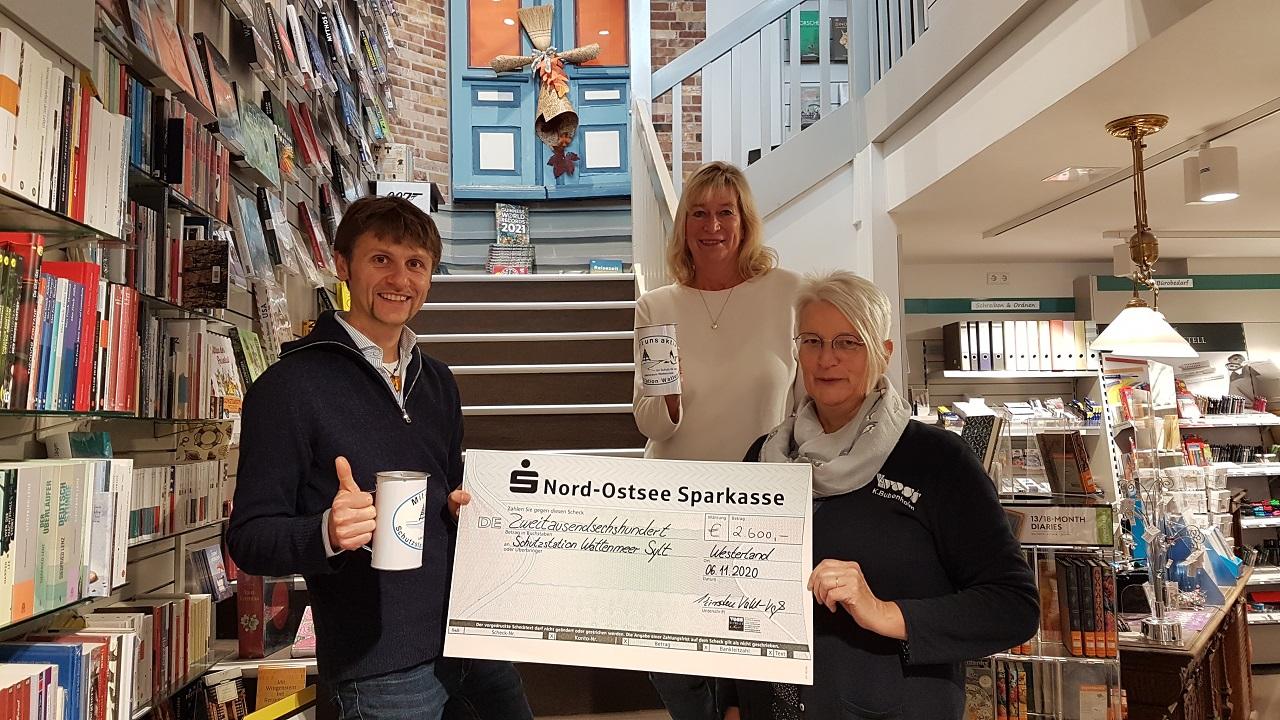 Voss auf Sylt unterstützt die Schutzstation Wattenmeer