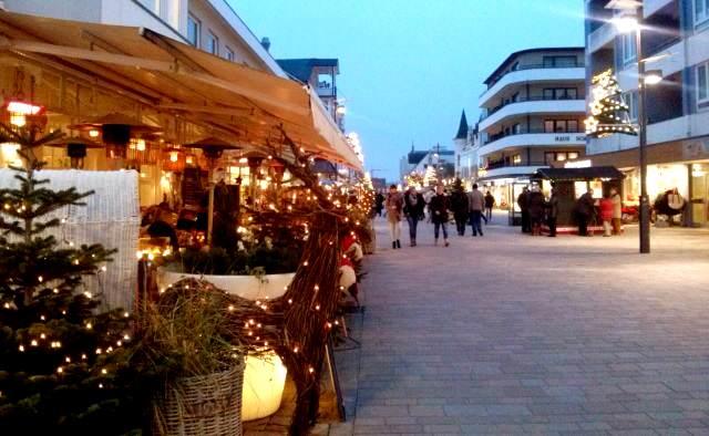 Heilig Abend in Westerland haben einige Restaurants geöffnet