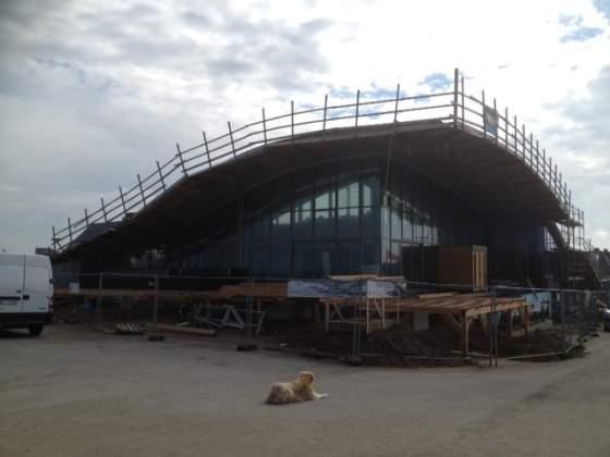 Eröffnung des neuen Gosch in Wenningstedt rückt näher - Sylt TV