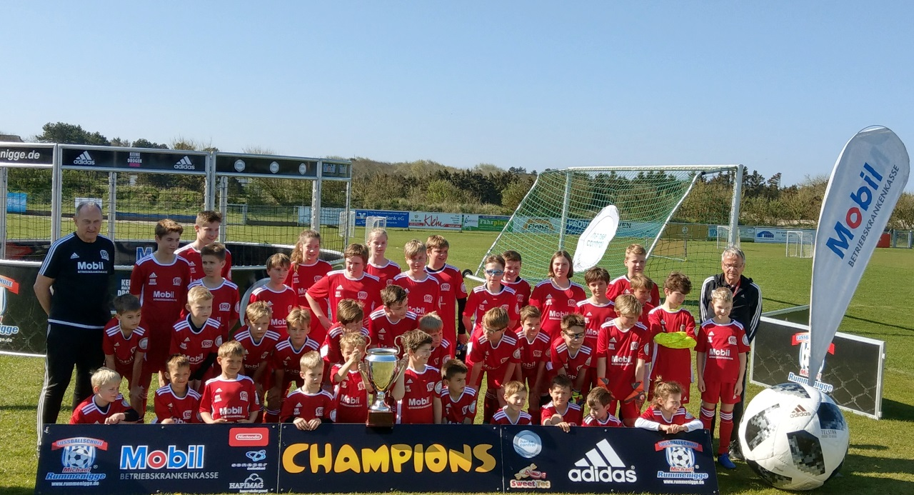 Fussballschule Michael Rummenigge auf Sylt Ostern 2019