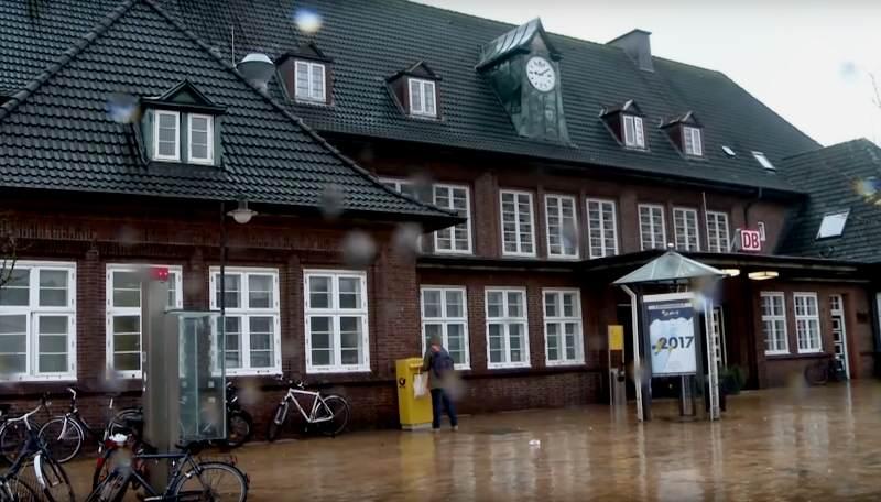 Im Bahnhof Westerland/Sylt ereignete sich der Vorfall