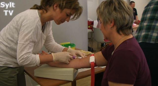 Blutspende auf Sylt