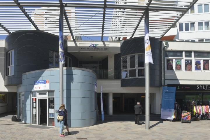 Das Congress Centrum in Westerland auf Sylt