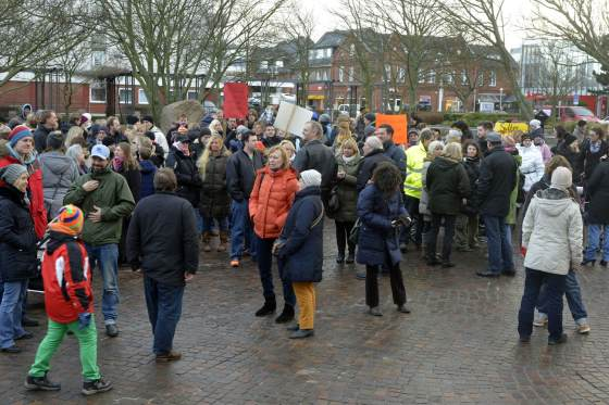 Demo in Westerland