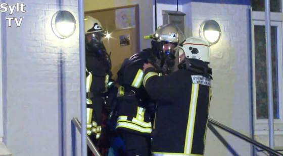 Sylt: Haus Victoria in Westerland musste nach Brand evakuiert werden