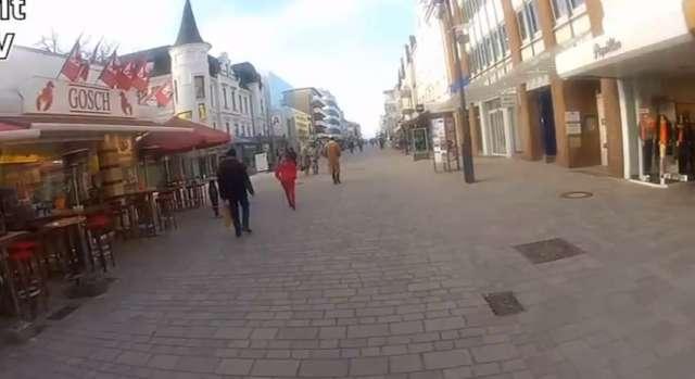 Friedrichstraße in Westerland auf Sylt