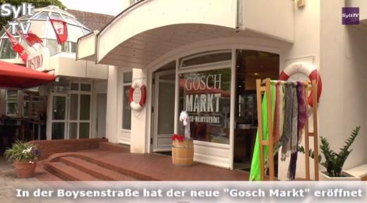 In der Boysenstraße von Westerland ist der Gosch-Markt