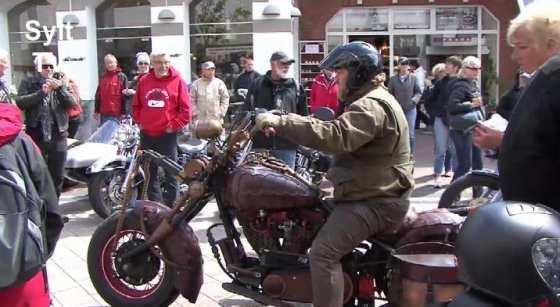 Harley Treffen Sylt 2012 1.Tag