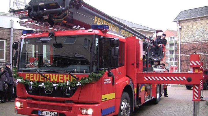 Neues Feuerwehrfahrzeug für Westerland und Sylt