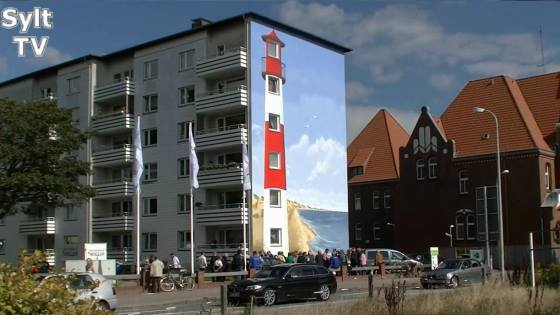 Der neue Leuchtturm in Westerland