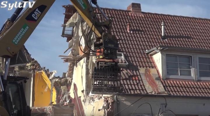 Nachtclub Eve's in Westerland auf Sylt wurde abgerissen