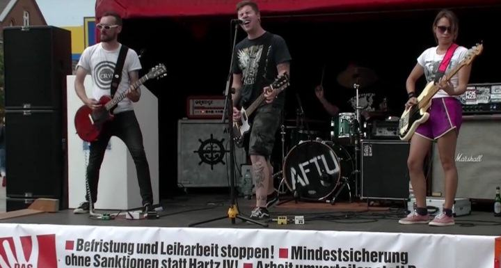 "Punk Konzert von ""Amphet for the unloved"" auf Sylt"