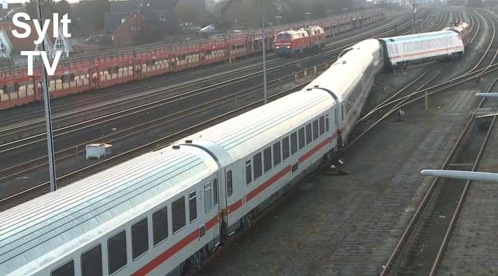 Rangierunfall Bahn Sylt