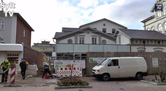 Rossberg-Haus vor Fertigstellung