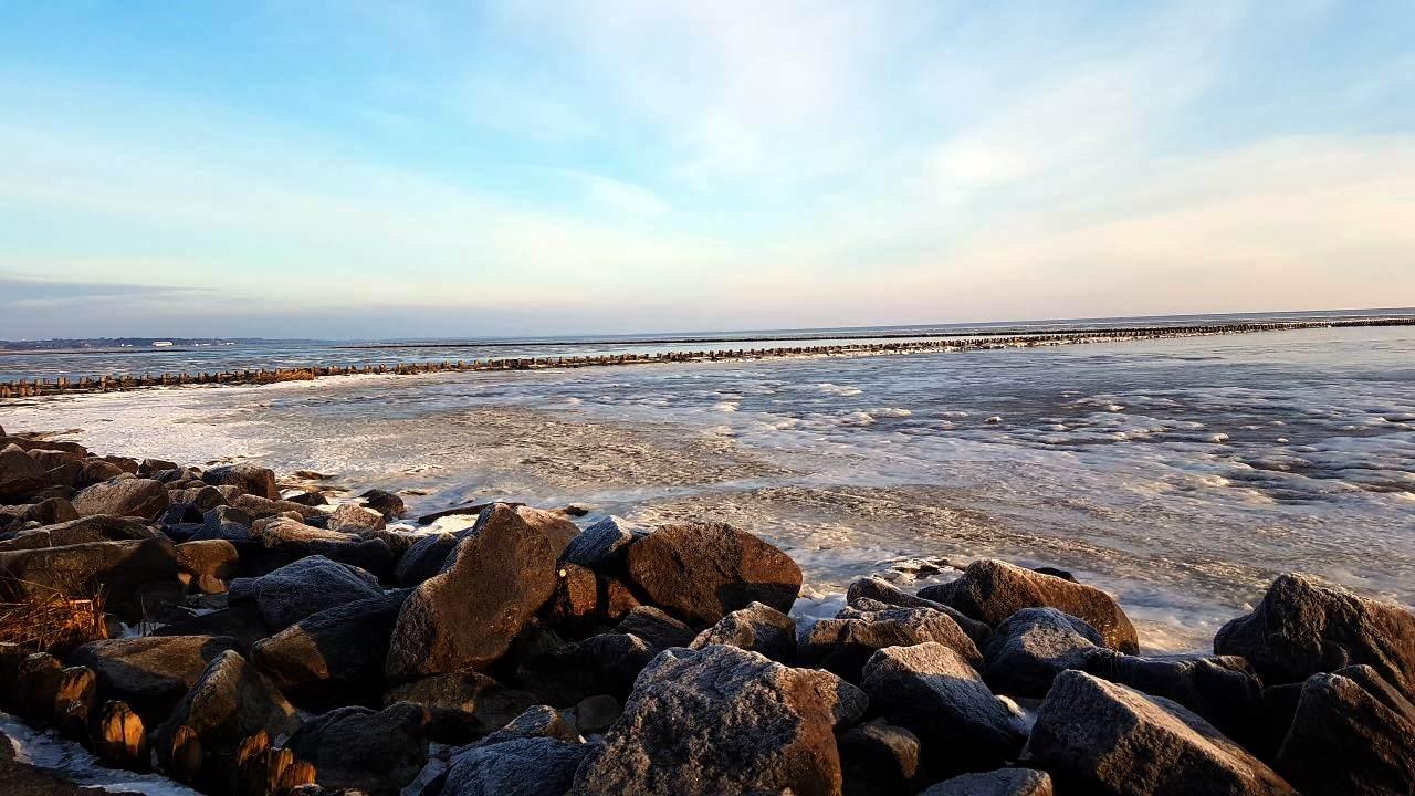 Schöne und eiskalte Wintertage auf Sylt